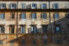 Dom w Trastevere, Rzym zdjęcie royalty free