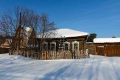 Dom w wiosce Obraz Stock