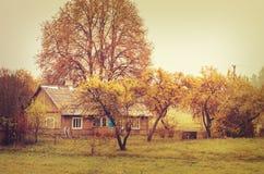 Dom w wsi Zdjęcie Stock