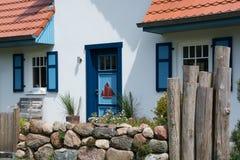 Dom w Wustrow, Darss, Niemcy Zdjęcie Royalty Free