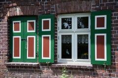 Dom w Wustrow, Darss, Niemcy Zdjęcie Stock