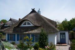 Dom w Wustrow, Darss, Niemcy Obrazy Royalty Free