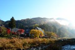 Dom w wzgórzu Zdjęcie Stock