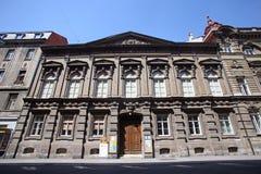 Dom w Zagreb, Chorwacja obraz royalty free