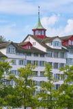 Dom w Zurich, Szwajcaria Obraz Stock