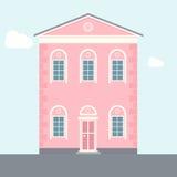 Dom wektorowa ilustracja Zdjęcia Royalty Free