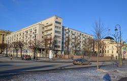 Dom więźniowie polityczni w Petersburg Zdjęcie Royalty Free