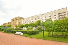 Dom więźniowie polityczni w St Petersburg fotografia stock