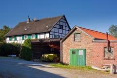 dom wiejski Germany historyczny Zdjęcia Stock