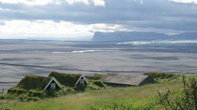 dom wiejski icelandic Obrazy Royalty Free