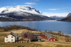 Dom wiejski Norwegia Fotografia Stock