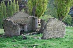 dom wiejski rujnujący Obrazy Stock