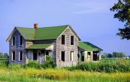 dom wiejski samotny Fotografia Royalty Free