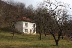 Dom wiejski w wiosce Ribaritsa Obraz Stock