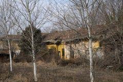 Dom wiejski zaniechana wieś Mediolan obraz royalty free