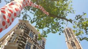 Dom wierza Utrecht, początku tour de france Obrazy Royalty Free