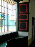 Dom Windows żelazo Obraz Stock