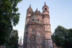 The dom in worms germany Stock Photography