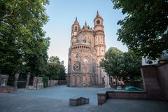 The dom in worms germany. The famous dom in worms germany Stock Photo