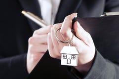 dom wydał klucze Zdjęcie Stock