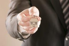 dom wydał klucze Fotografia Stock