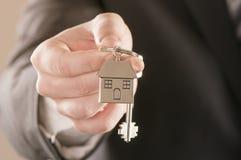 dom wydał klucze Zdjęcia Stock