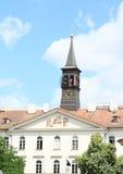 Dom z dzwonnicą Zdjęcia Royalty Free