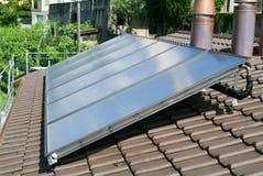 Dom z panel słoneczny Obraz Stock