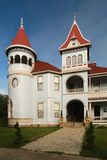 Dom z wieżyczką Obrazy Stock