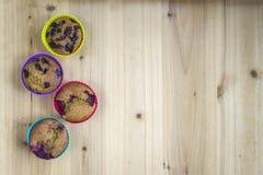 dom zrobił muffins obrazy stock