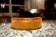 Dom zrobił nowemu Jork cheesecake Obrazy Royalty Free