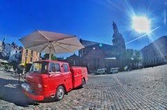 Doma laukums. Doma square, Riga, Latvia Stock Images
