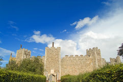 Domain of the castle Royalty Free Stock Photos