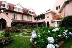 Domain de MArie Church, Dalat en Veitnam. Fotos de archivo
