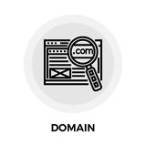 Domain Line Icon. Domain icon vector. Flat icon isolated on the white background. Editable EPS file. Vector illustration Royalty Free Stock Photos