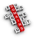 Domain Name Photographie stock