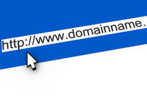 Domain name Royalty Free Stock Photo