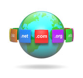 Domain Name di Internet Fotografia Stock