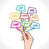 Domain Name a disposición Fotografía de archivo