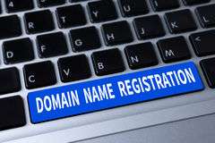 DOMAIN NAME REGISTRATION Royalty Free Stock Images