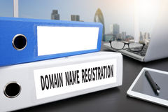 DOMAIN NAME REGISTRATION Royalty Free Stock Photos