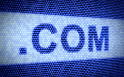 Domain names and internet concept. 3d illustration of domain names and internet concept Stock Image