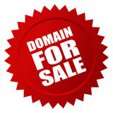 Domain for sale Stock Photography