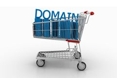 Domain For Sale  Stock Photo