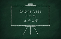 Domain for sale Royalty Free Stock Photos