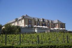 Domaine Carneros酿酒厂在纳帕谷,加利福尼亚 免版税图库摄影