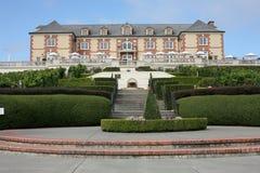 Domaine Carneros, Napa-Vallei Californië royalty-vrije stock afbeeldingen