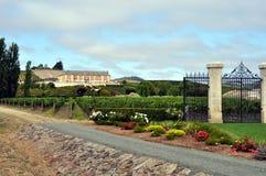 Domaine Carneros vineyard, Napa Valley. Napa Valley (US) - View of the mansion of the Domaine Carneros vineyard Stock Images