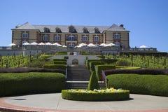 Domaine Carneros vinodling i Napa Valley, Kalifornien Royaltyfria Foton