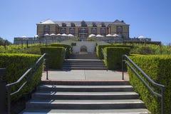 Domaine Carneros vinodling i Napa Valley, Kalifornien Royaltyfria Bilder